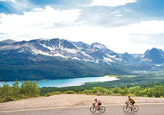 Backroads Glacier and Watertong Lakes Biking trip
